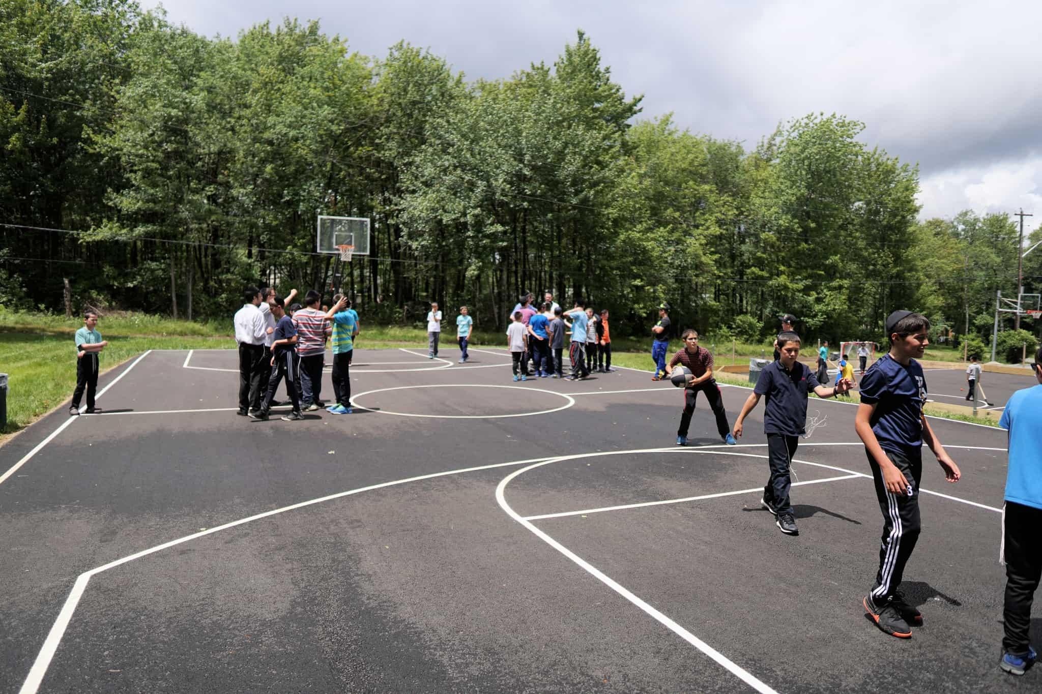 Grounds: Basketball Court 2018