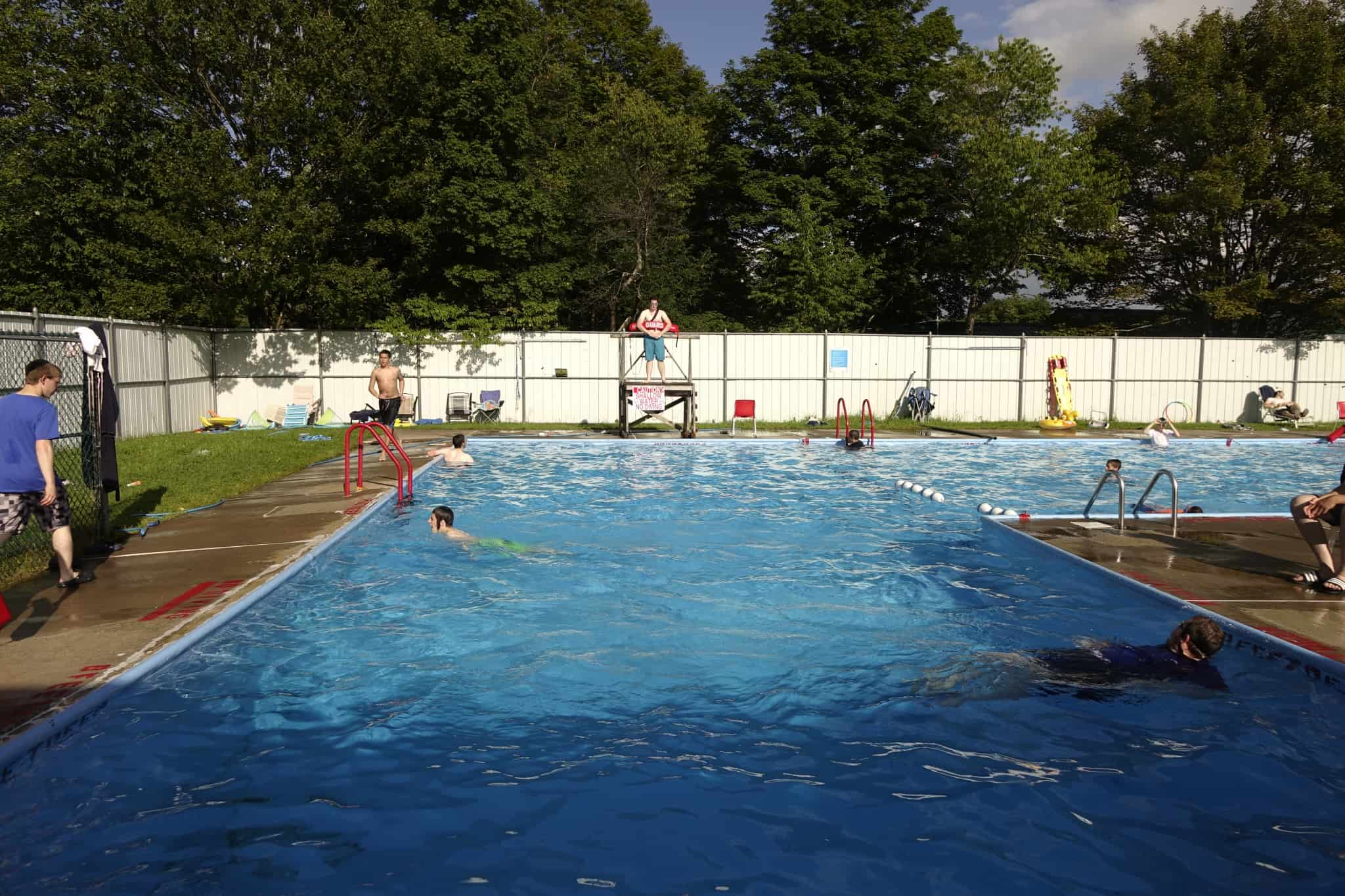 Grounds: Swimming Pool 2018